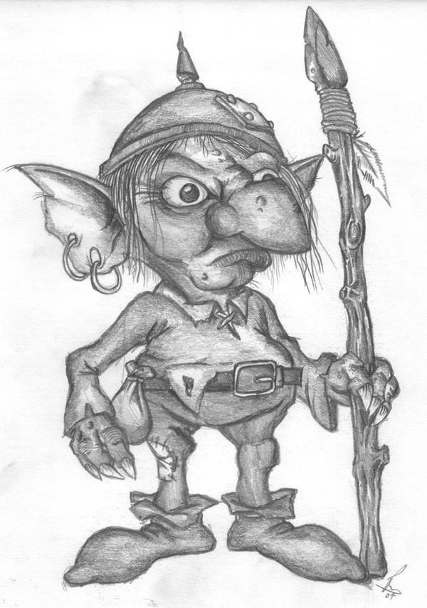 goblin by richardsymonsart