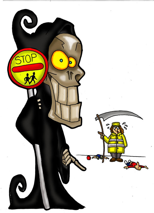 death and the lolly pop lady by richardsymonsart