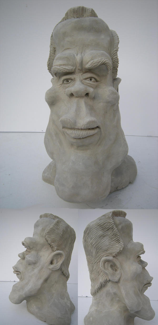 arnold schwarzenegger by richardsymonsart