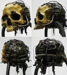 servo skull, detail