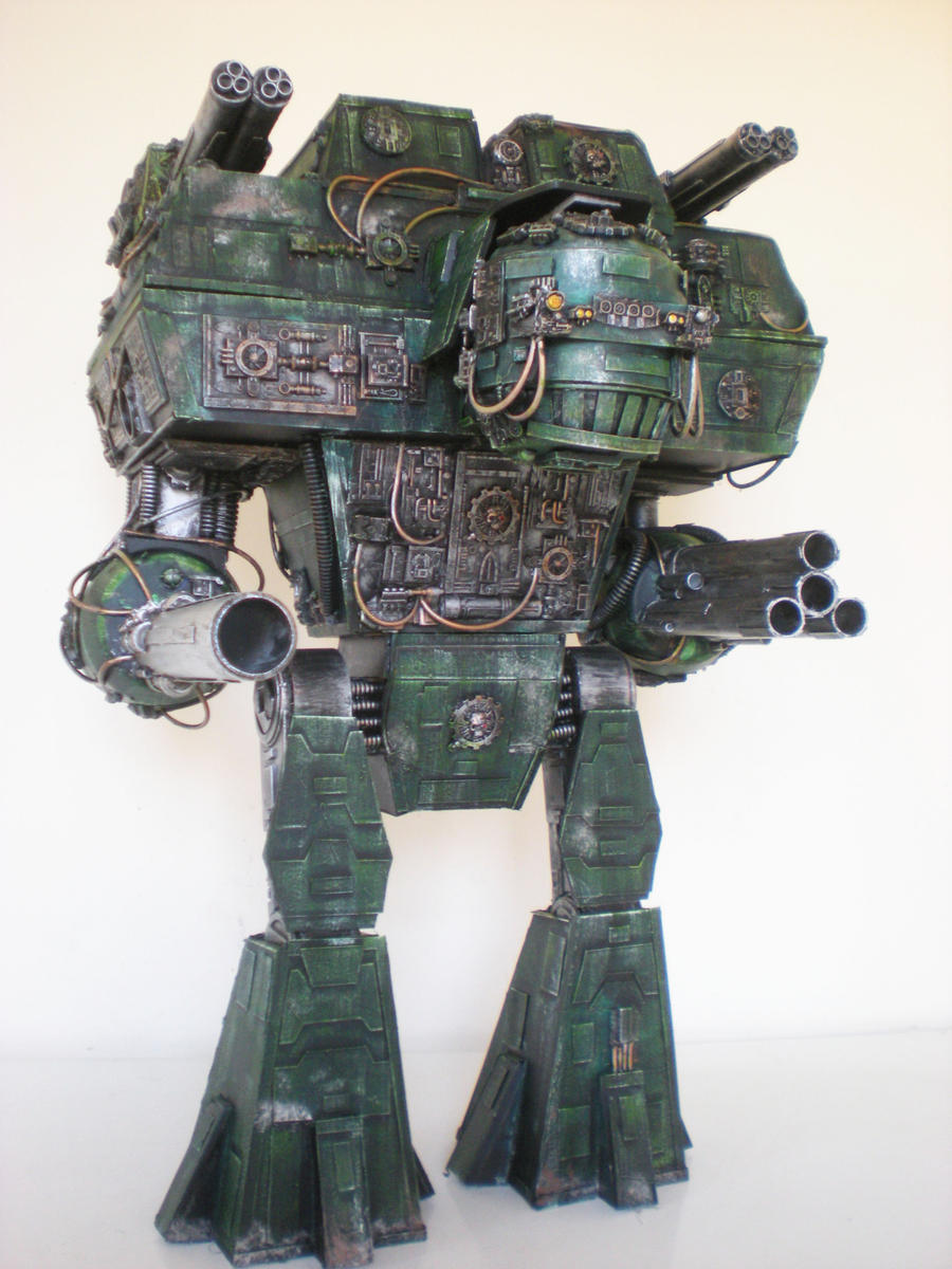warlord titan by richardsymonsart