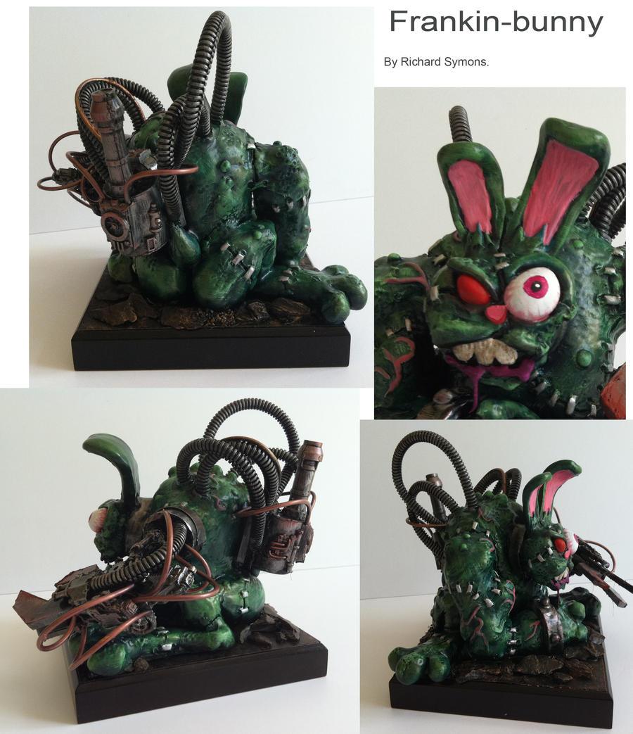 frankin bunny detail by richardsymonsart