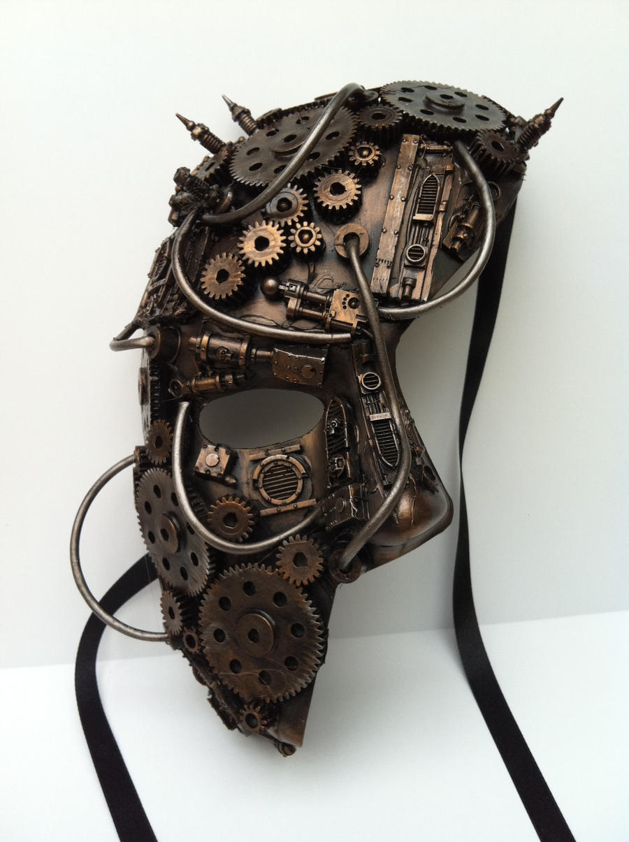 clockwork mask by richardsymonsart