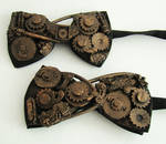 steampunk bow ties