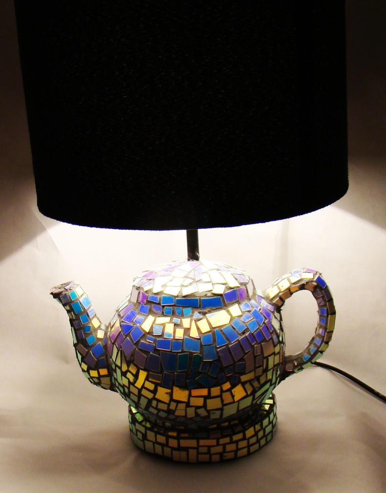 Mirror Ball Teapot Lamp. By Richardsymonsart ...