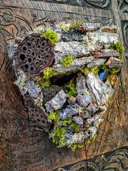 tree man wooden mask 2016