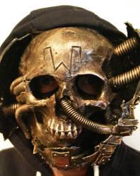 skull mask commission