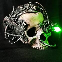 dead borg or servo skull scupture