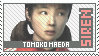 Tomoko Maeda Fan Stamp by ES-Dinah