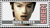 Shiro Miyata Fan - Siren Stamp by ES-Dinah