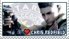 Chris Redfield - Stamp by ES-Dinah