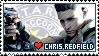 Chris Redfield - Stamp by ES-Dinah