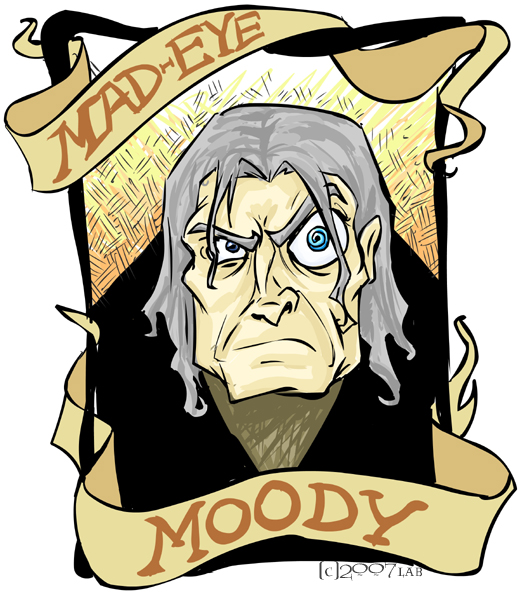 Mad Eye Moody - DH by lberghol on DeviantArt