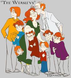Weasley In Progress -HP by lberghol