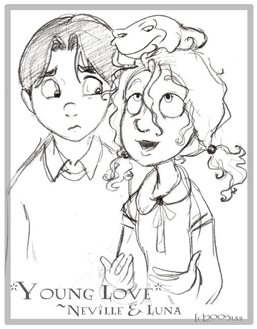 Young Love Neville Luna By Lberghol On Deviantart