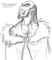 Fenrir Greyback - HBP by lberghol