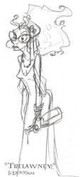 Trelawney - HP by lberghol