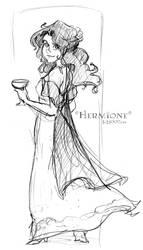 Wedding Witchwear - HP by lberghol