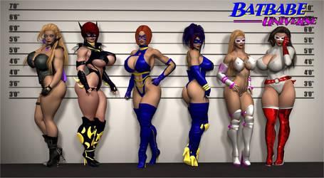 Bat-girls 2 by JessyDee