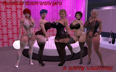 Happy Valentine by JessyDee