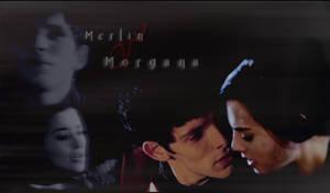 Merlin and Morgana - Wallpaper