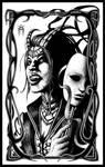 Female Vampire - The Mask