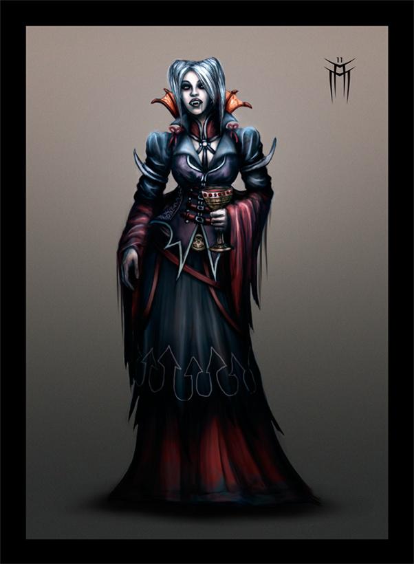 Vampiros: todo lo que has de saber. Vampire_countess_by_kargain-d48c7qv