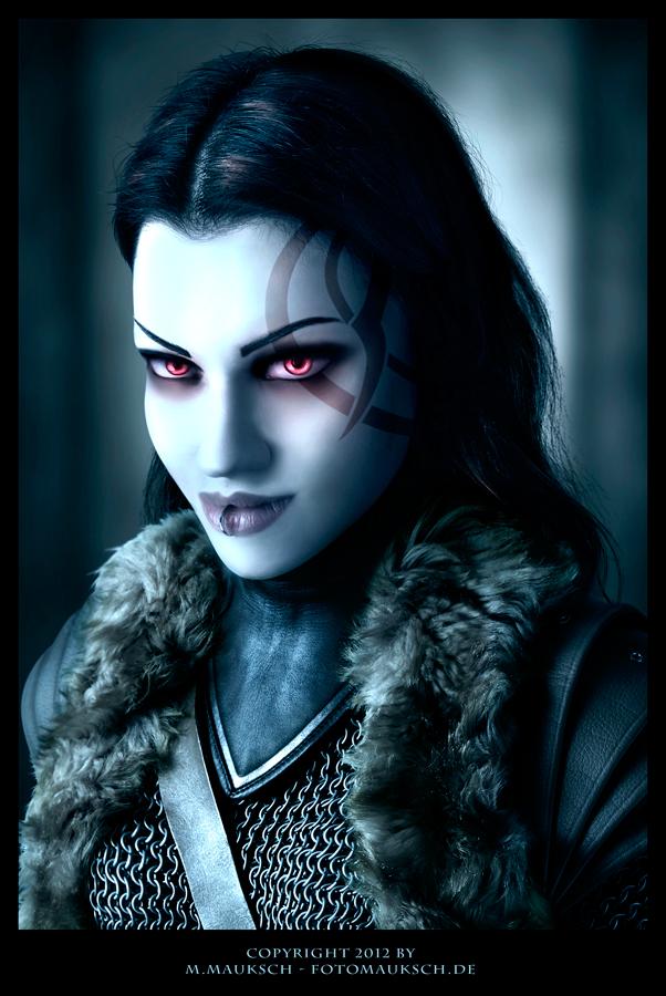 Kalya ''Die Woelfin'' - vampire photomanipulation by KARGAIN