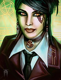 Shadowrun Returns - PC/NPC Character Portrait 01
