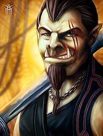 Shadowrun Returns - PC/NPC Character Portrait 02