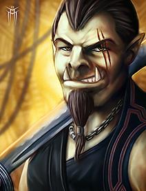 Shadowrun Returns - PC/NPC Character Portrait 02 by KARGAIN