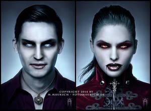 Tribute Vampire Portraits - R.I.P. WoD