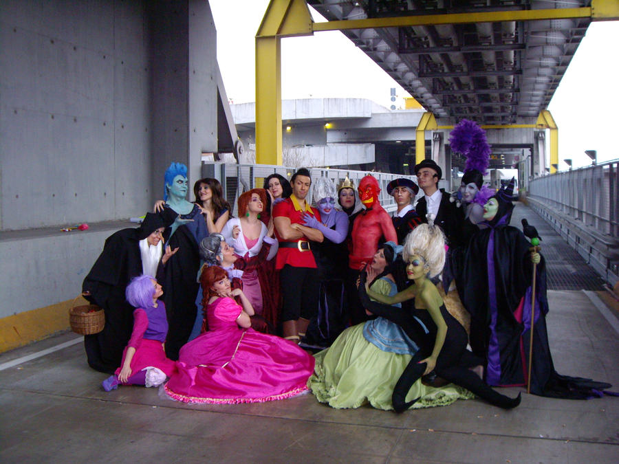 Cosplay y Mas Disney_villains_by_azka_cosplay-d4tcj3w