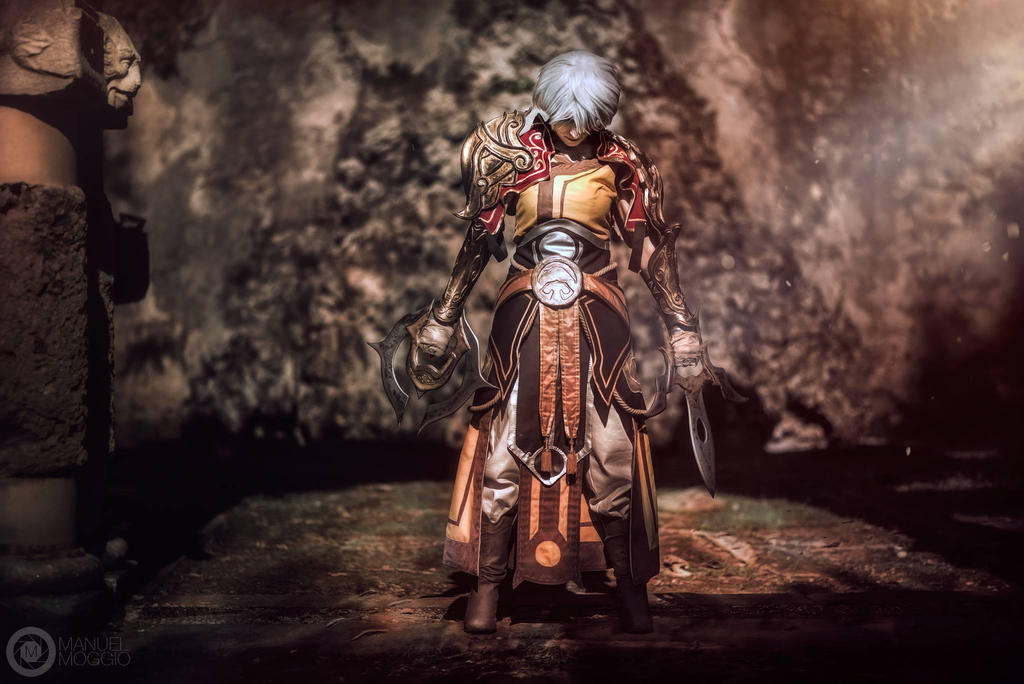 Charging my Spirit by azka-cosplay