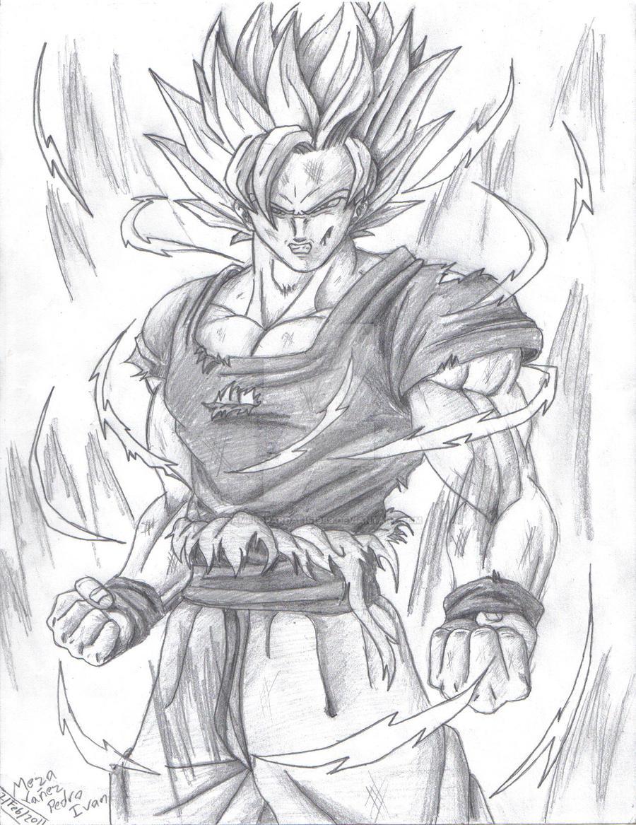 Dragon Ball Z Characters Super Saiyan Drawings Flirt Kurs