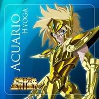 Acuarius Hyoga Yu-Gi-Oh! Style