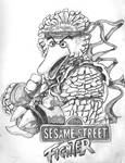 Sesame Street Fighter Big Bird