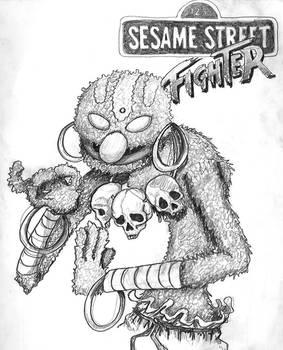 Sesame Street, Street Fighter,