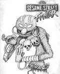 Sesame Street, Street Fighter,