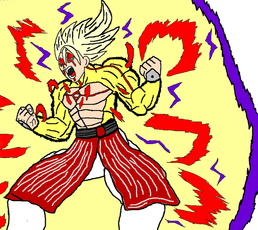Ascended Omni Saiyan/ Shiro Super Saiyan Omni King by Mech-Master