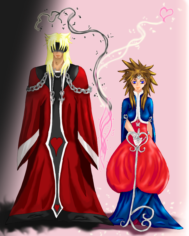 The King and Queen of Hearts by LoveAlchemist on DeviantArt