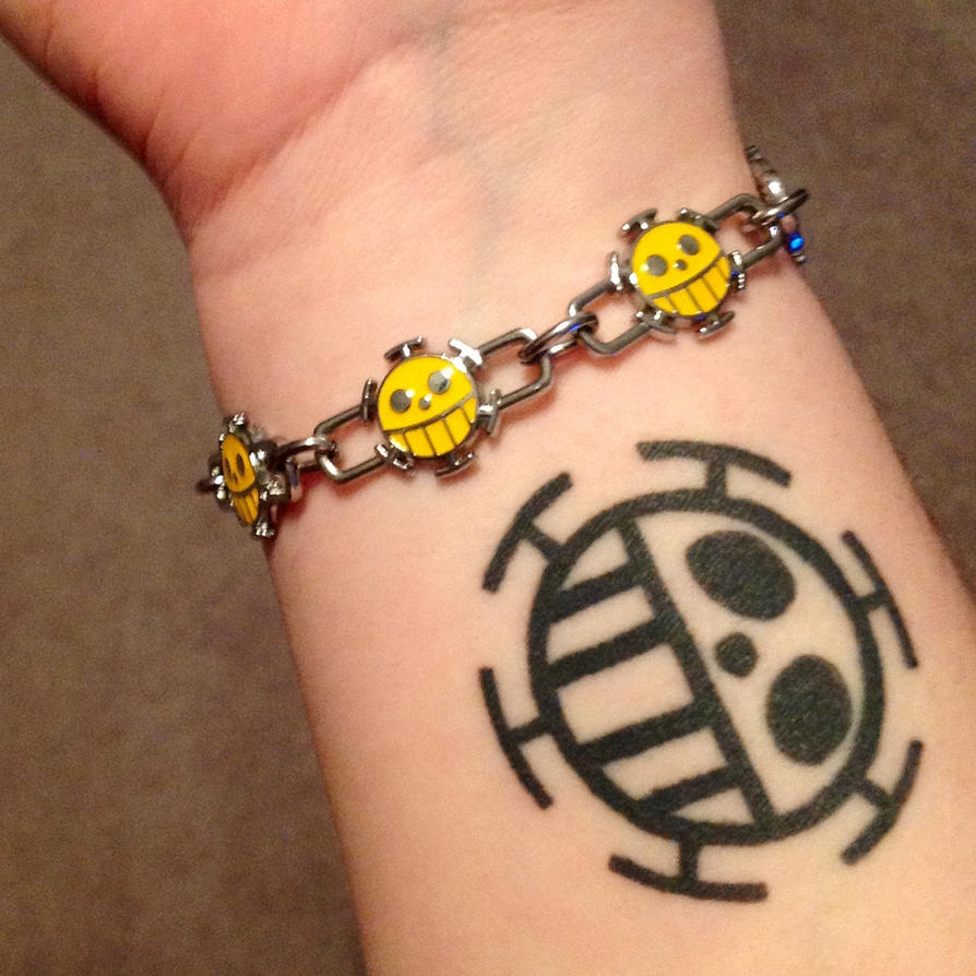 Heart pirate tattoo by sillaque on deviantart for One piece law tattoos