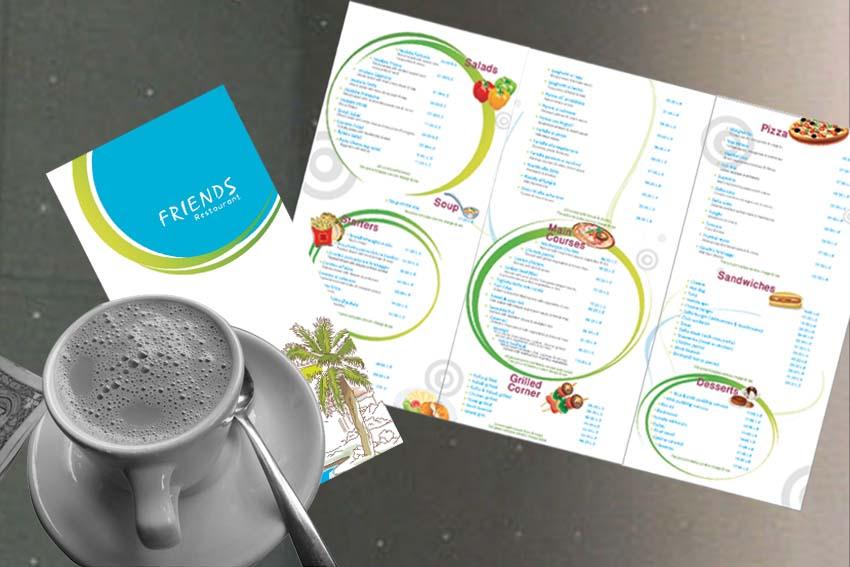 friends menu