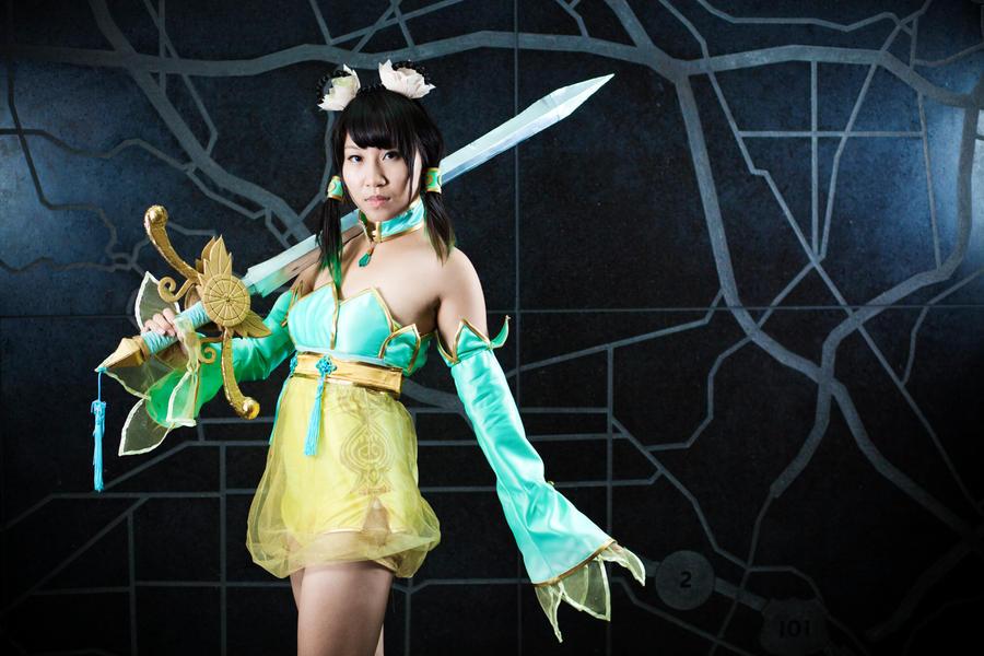 Yan Leixia - Soulcalibur 5 'Justice Will Be Serve' by suuzan