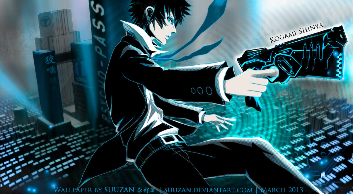 PSYCHO-PASS : Shinya Kogami // Failing Sanity by suuzan
