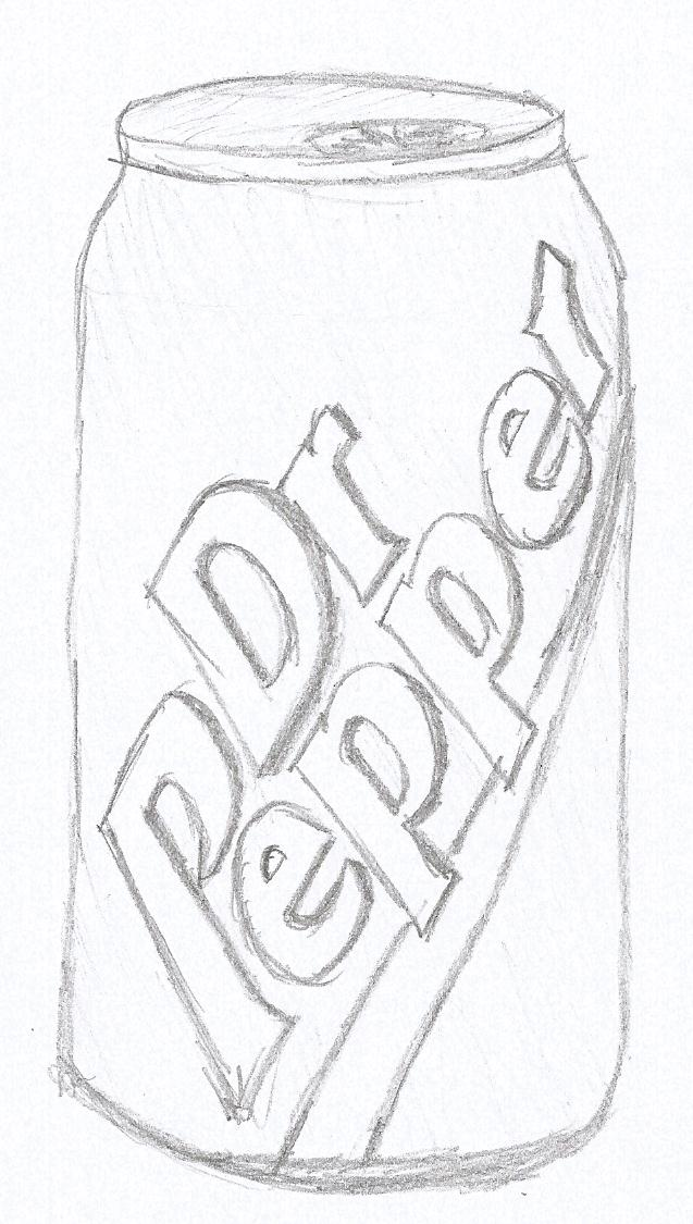 no soda coloring pages - photo#19