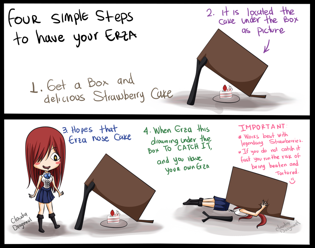 Free Anime Strawberry Cake