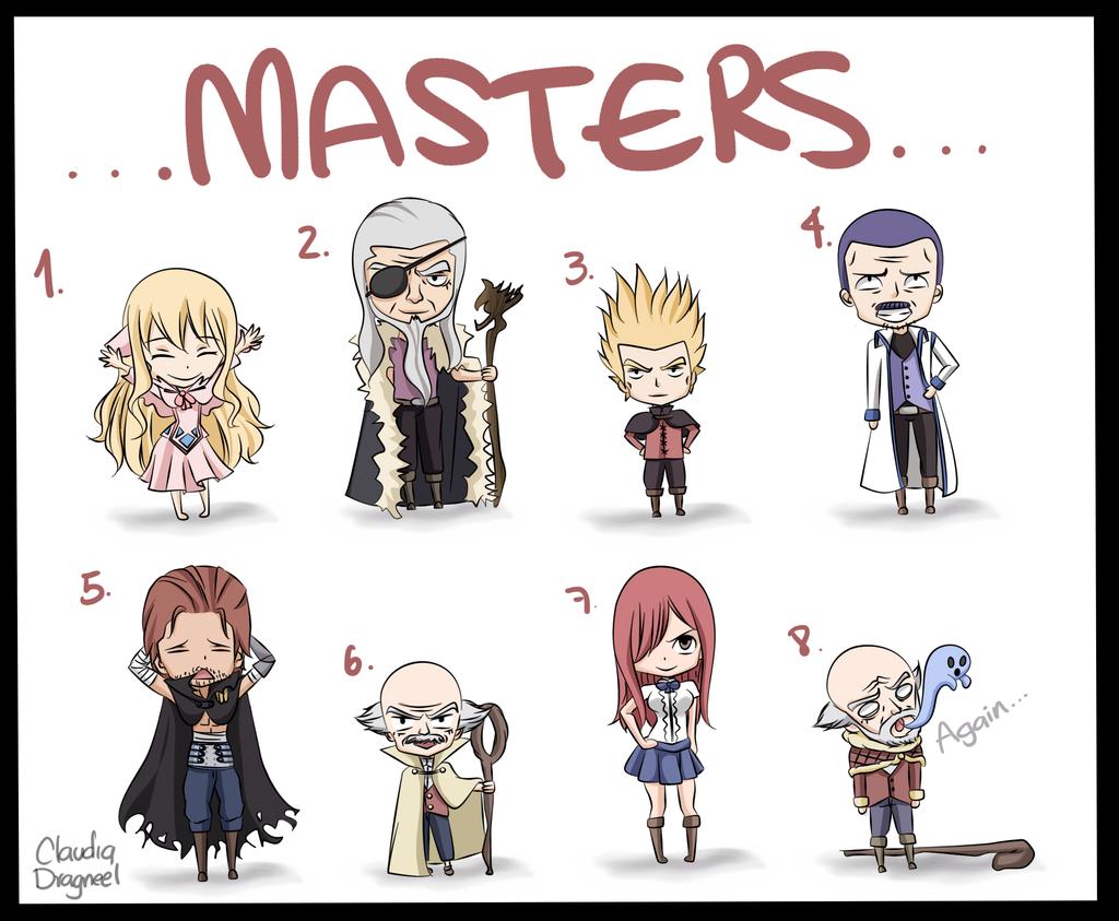 Masters by claudiadragneel on DeviantArt