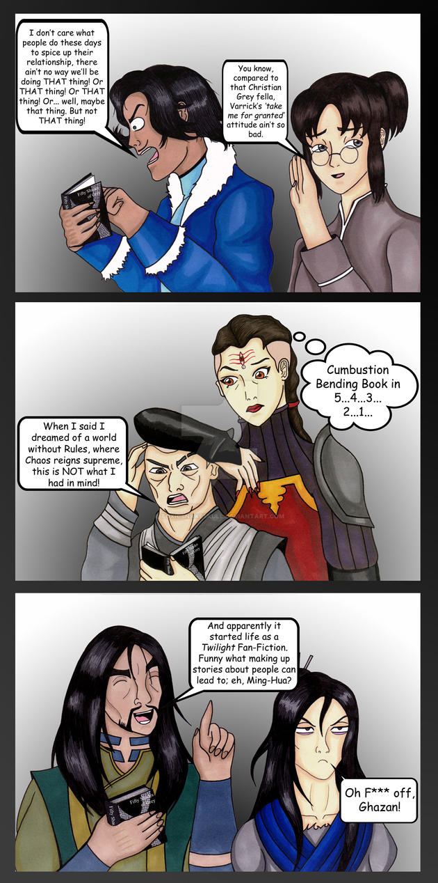 Lok cast vs 50 shades of grey part 2 by toxicsnakeskull on for Fifty shades of grey part two
