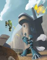 Mega Man Tribute by ZackRI